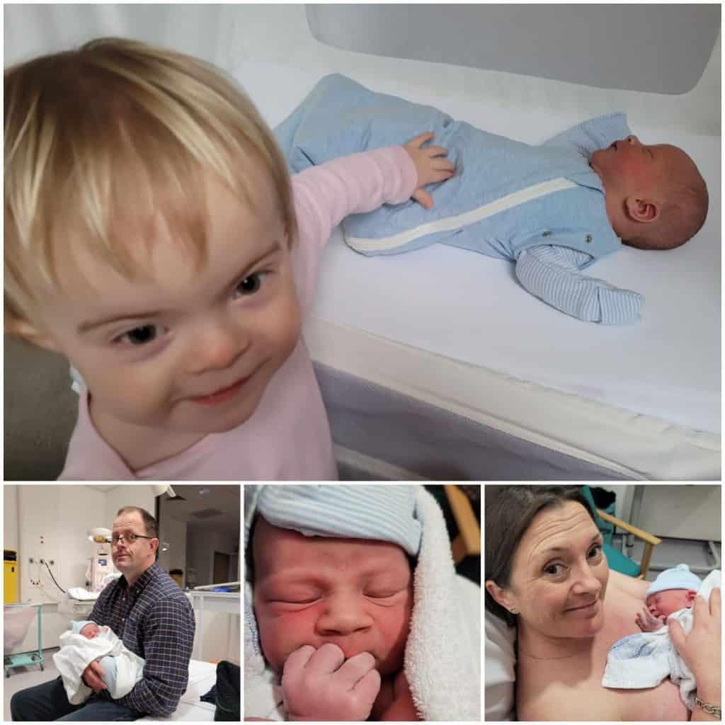 Welcoming Baby Ethan